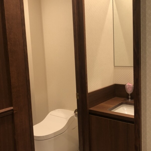 Mystiqueのトイレ